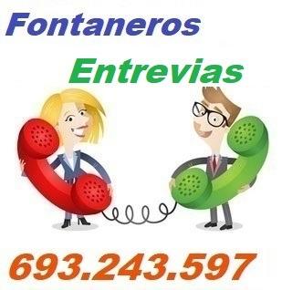 Telefono de la empresa fontaneros Entrevias